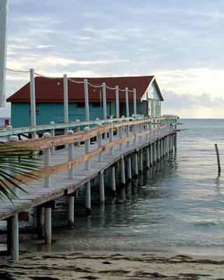 Belize dock