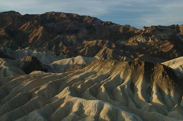 Zabriskie Point view, Death Valley