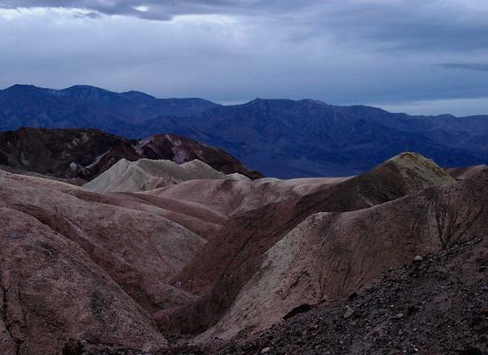 Zabriskie dawn, Death Valley