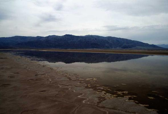 Reflection, Death Valley