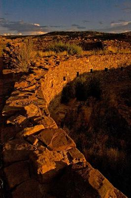 Sunset kiva